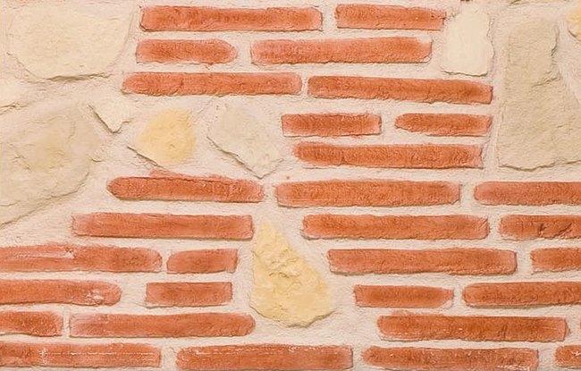 Panneau de rev tement mural d coratif aspect brique Revetement mural brique rouge