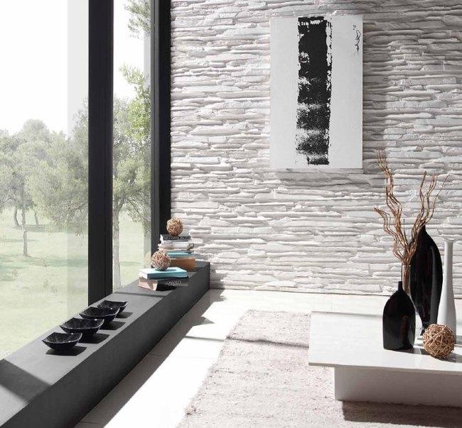 panneaux puzzles rev tement mural d coratif aspect pierre. Black Bedroom Furniture Sets. Home Design Ideas